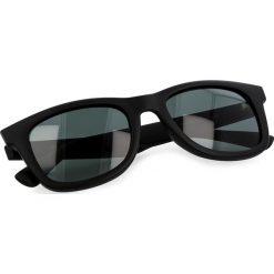 Okulary przeciwsłoneczne BOSS - 0213/S Matt Black DL5. Czarne okulary przeciwsłoneczne damskie marki Boss. W wyprzedaży za 449,00 zł.