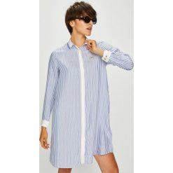 U.S. Polo - Sukienka. Szare sukienki mini marki U.S. Polo, na co dzień, s, z tkaniny, casualowe, polo. W wyprzedaży za 449,90 zł.