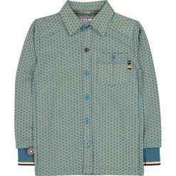 """Koszula """"Starz In Their Eyes"""" w kolorze niebiesko-żółtym. Niebieskie koszule chłopięce 4FunkyFlavours Kids, z klasycznym kołnierzykiem. W wyprzedaży za 102,95 zł."""