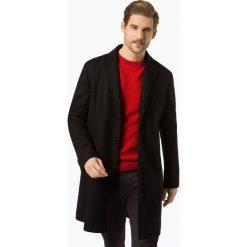 HUGO - Płaszcz męski – Malte1841, czarny. Brązowe płaszcze na zamek męskie marki Cropp, na zimę, l, sportowe. Za 999,95 zł.