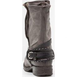 A.S.98 Kowbojki i Buty motocyklowe nebia. Szare buty zimowe damskie marki A.S.98, z materiału. W wyprzedaży za 823,20 zł.