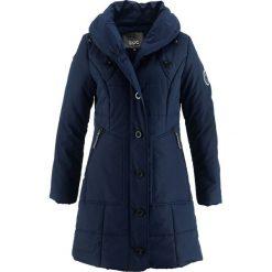Płaszcz pikowany bonprix ciemnoniebieski. Niebieskie płaszcze damskie bonprix. Za 229,99 zł.