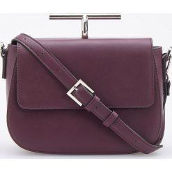 Torebka z ozdobnym uchwytem - Bordowy. Czerwone torebki klasyczne damskie marki Reserved, duże. Za 119,99 zł.