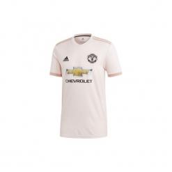 Koszulka krótki rękaw do piłki nożnej Manchester United. Szare t-shirty damskie Adidas, xl. Za 389,99 zł.