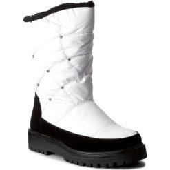 Śniegowce JENNY FAIRY - WYL1127A-4 Biały. Białe buty zimowe damskie marki Jenny Fairy, z materiału. Za 189,99 zł.