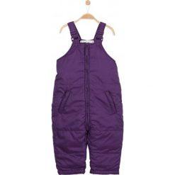 Odzież dziecięca: Spodnie zimowe ocieplane dla niemowlaka