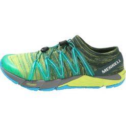 Merrell BARE ACCESS FLEX  Obuwie do biegania treningowe yellow/green. Czarne buty do biegania męskie Merrell, z materiału. Za 629,00 zł.
