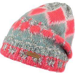 Barts - Czapka Emerald Beanie confetti. Różowe czapki zimowe damskie marki Barts, z bawełny. W wyprzedaży za 99,90 zł.