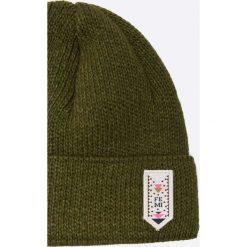 Femi Stories - Czapka Speedy. Brązowe czapki zimowe damskie Femi Stories, na zimę. W wyprzedaży za 89,90 zł.