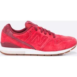 New Balance - Buty MRL996LO. Różowe halówki męskie marki New Balance, z gumy, na sznurówki. W wyprzedaży za 299,90 zł.
