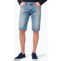 Diesel - Spodenki męskie – Calzoncini, niebieski. Niebieskie spodenki jeansowe męskie Diesel. Za 449,95 zł.