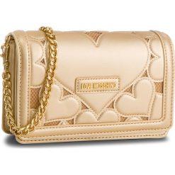 Torebka LOVE MOSCHINO - JC4048PP16LH0901 Oro. Żółte torebki klasyczne damskie Love Moschino, z materiału. Za 879,00 zł.