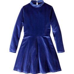 Sukienki dziewczęce: Sukienka aksamitna bonprix kobaltowy