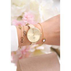 Zegarki damskie: Beżowo-Złoty Zegarek Fanaticism