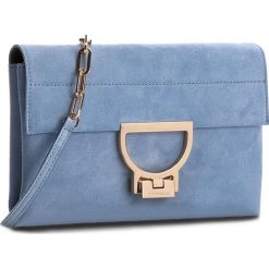 Torebka COCCINELLE - BD6 Arlettis Suede E1 BD6 19 01 01 Azur 021. Niebieskie torebki klasyczne damskie marki Coccinelle, w ażurowe wzory, ze skóry. W wyprzedaży za 629,00 zł.