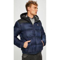 Tommy Jeans - Kurtka. Czarne kurtki męskie bomber Tommy Jeans, l, z jeansu, z kapturem. Za 799,90 zł.