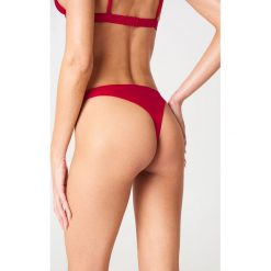 Bikini: Andrea Hedenstedt x NA-KD Dół bikini - Red