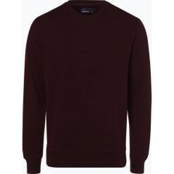 Fred Perry - Męska bluza nierozpinana, czerwony. Czerwone bluzy męskie rozpinane Fred Perry, m, z haftami. Za 469,95 zł.