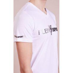 Plein Sport Tshirt z nadrukiem white. Białe koszulki polo marki Plein Sport, m, z nadrukiem, z bawełny. W wyprzedaży za 401,40 zł.