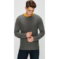 S. Oliver - Sweter. Szare swetry klasyczne męskie S.Oliver, l, z bawełny, z okrągłym kołnierzem. Za 219,90 zł.