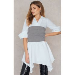 Sukienki: Trendyol Sukienka gorsetowa – White