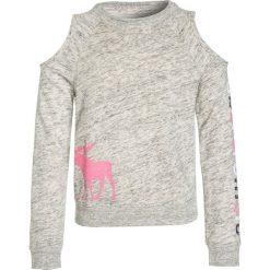 Abercrombie & Fitch CREW Bluza light heather grey. Szare bluzy dziewczęce marki Abercrombie & Fitch, z bawełny. W wyprzedaży za 127,20 zł.
