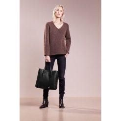 Shopper bag damskie: Coccinelle CELENE SHOPPER GRANA Torba na zakupy noir/terre