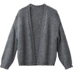 Luźny kardigan 10-16 lat. Szare swetry chłopięce La Redoute Collections, z poliamidu. Za 126,38 zł.