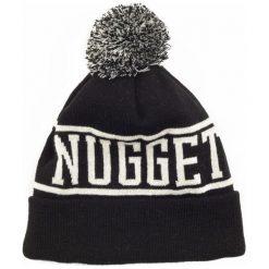 Nugget Czapka Unisex Canister 4 Beanie, Czarna. Czarne czapki zimowe damskie Nugget, z napisami. Za 92,00 zł.