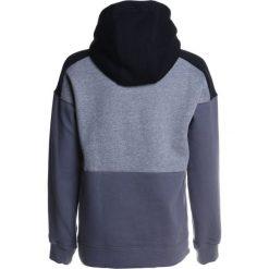 Nike Performance AIR HOODIE Bluza z kapturem carbon heather/black/dark grey/white. Niebieskie bluzy chłopięce rozpinane marki Nike Performance, m, z materiału. Za 219,00 zł.