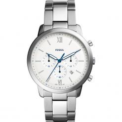 Zegarek FOSSIL - Neutra Chrono FS5433 Silver/Silver. Szare zegarki męskie Fossil, ze stali. Za 589,00 zł.