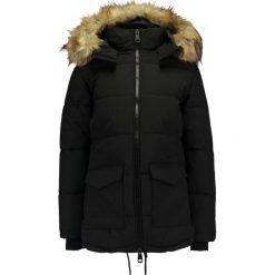 Topshop KEAVENY PUFFER    Kurtka zimowa black. Czarne bomberki damskie Topshop, na zimę, z bawełny. W wyprzedaży za 367,20 zł.