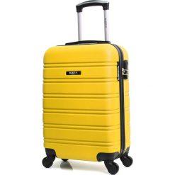 """Walizki: Walizka """"Bilbao"""" w kolorze żółtym – 35 x 48 x 21 cm"""