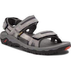Sandały TEVA - Hudson 1002433 Charcoal Grey. Szare sandały męskie skórzane Teva. W wyprzedaży za 199,00 zł.