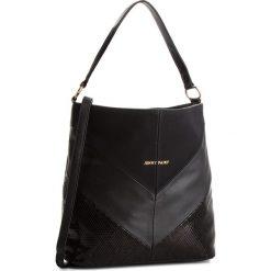 Torebka JENNY FAIRY - RS0267 Black. Czarne torebki klasyczne damskie marki Jenny Fairy, ze skóry ekologicznej, duże. Za 89,99 zł.