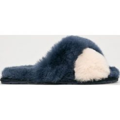 Emu Australia - Kapcie Mayberry Pop. Szare kapcie damskie EMU Australia, z materiału. Za 249,90 zł.