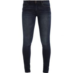 Rurki damskie: Abercrombie & Fitch CORE RISE SUPER SKINNY ANKLE Jeans Skinny Fit dark