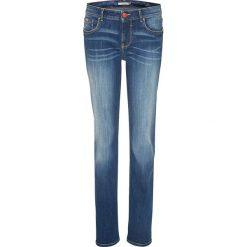 """Spodnie z wysokim stanem: Dżinsy """"Mara"""" w kolorze niebieskim"""