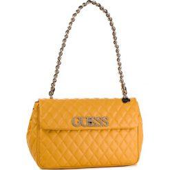 Torebka GUESS - HWVG71 75190 MARIGOLD. Żółte torebki klasyczne damskie Guess, z aplikacjami, ze skóry ekologicznej. Za 649,00 zł.