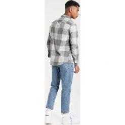 Koszule męskie na spinki: Burton Menswear London CHECKERBOARD Koszula grey
