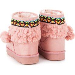 Buty zimowe chłopięce: Śniegowce z pomponami MOLLY