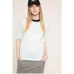 Nike Sportswear - Top. Szare topy sportowe damskie Nike Sportswear, m, z bawełny, z krótkim rękawem. W wyprzedaży za 119,90 zł.