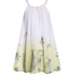Sukienki dziewczęce letnie: 3 Pommes KID TROPICAL JUNGLE DRESS WITHOUT SLEEVES Sukienka letnia jaune