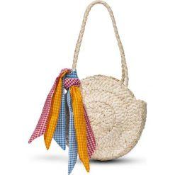 Mała torebka słomkowa bonprix beżowy. Brązowe torebki klasyczne damskie marki bonprix, małe. Za 49,99 zł.