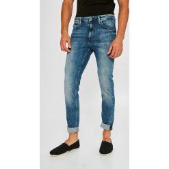 Pepe Jeans - Jeansy Nickel. Niebieskie jeansy męskie skinny Pepe Jeans, z bawełny. W wyprzedaży za 279,90 zł.