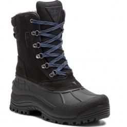 Śniegowce CMP - Kinos Snow Boots Wp 3Q48867 U901. Czarne botki męskie CMP, z materiału. Za 399,99 zł.