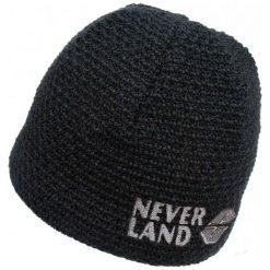 Czapki męskie: NEVERLAND Czapka męska Neo czarna