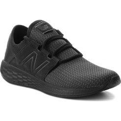 Buty NEW BALANCE - MCRUZNB2 Czarny. Czarne buty do biegania męskie New Balance, z materiału. W wyprzedaży za 269,00 zł.