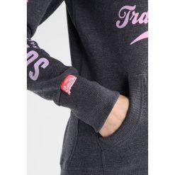 Bluzy damskie: Superdry TRACK & FIELD HOOD Bluza z kapturem miami charcoal marl