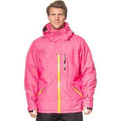 """Kurtki męskie bomber: Kurtka narciarska """"Ultar Peak"""" w kolorze różowym"""